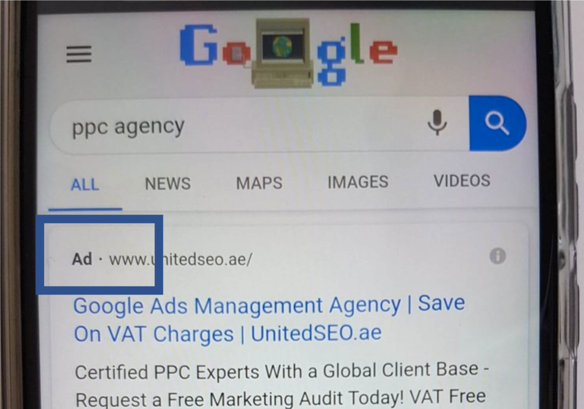 annonce Mobile Google Ads