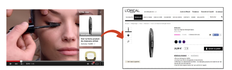 Annonce Youtube Shopping